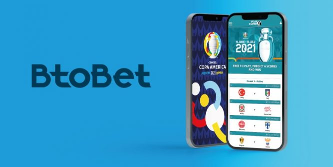 BtoBet has formed a partnership with Imprexis Gaming to launch free-to-play promotions in the build-up to this summer's Copa America and Euro tournaments.