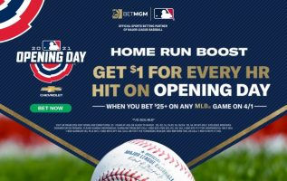 MLB Opening Day Bonus