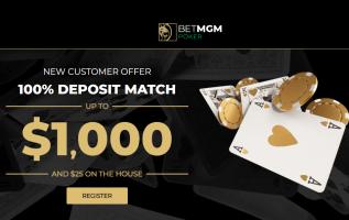 BetMGM Poker Michigan Bonus