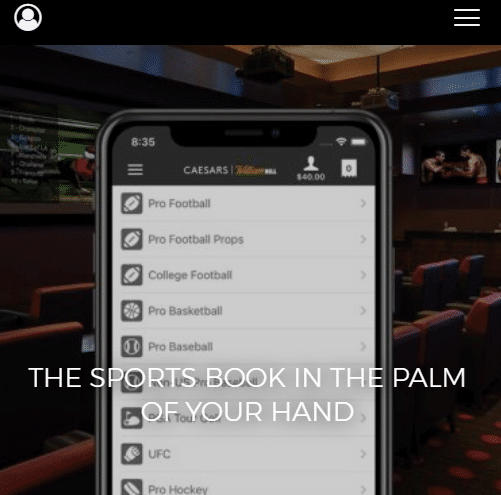 Caesars Arizona Sports Betting App
