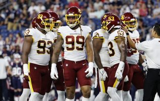 The Washington Football Team has become the first NFL team to partner with the American Gaming Association to promote responsible sports betting.
